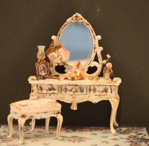 elegant shabby chic vanity set 160 00 margie s petite palette rh pinterest com shabby chic vanity table set