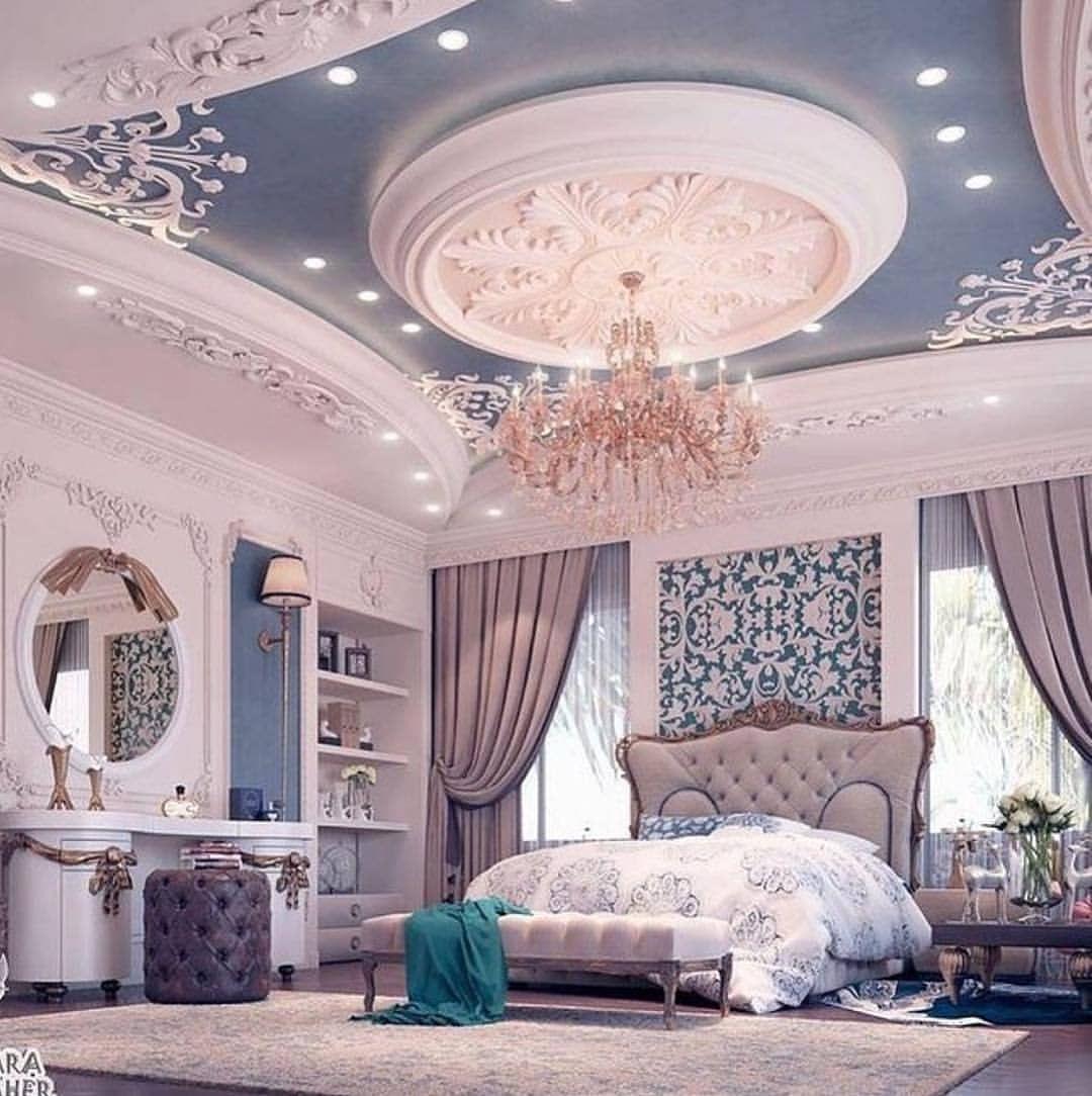 Inspirasi Desain Rumah Di Instagram Tidur Dikamar Ini Serasa Semoga Bisa Menjadi In Luxurious Bedrooms Luxury Bedroom Design Dream Rooms Luxury bedroom design desain