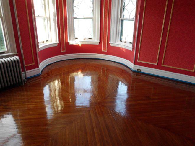 After Pic Job Refinishing Floors Hardwood