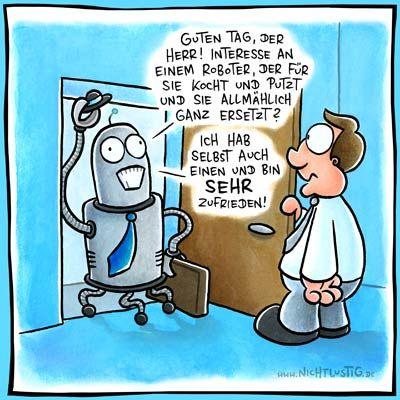 Roboter Witze