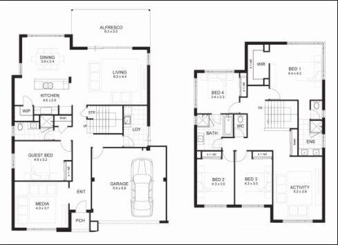 Two Storey House Floor Plan Designs Philippines Two Storey House Plans Home Design Floor Plans 2 Storey House Design