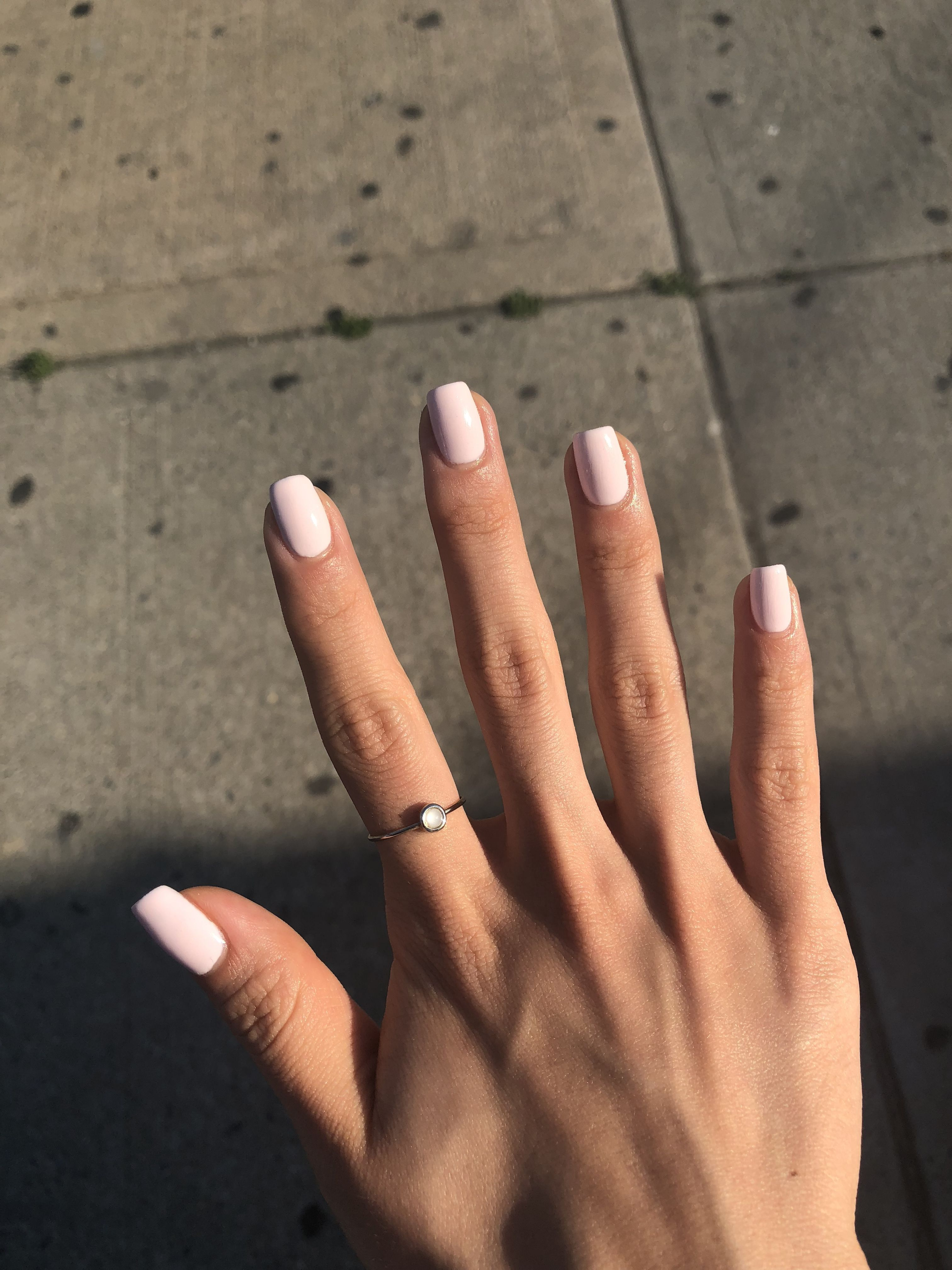 Nails Simple Short The Aforementioned Ideas Aren T Solely For Fingernails You May Also Utilize Them As To Paint Nails Sencillas Gel Nails Short Acrylic Nails