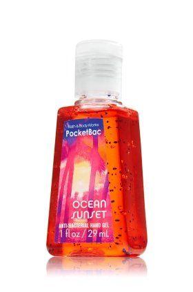 Amazon Com Ocean Sunset Anti Bacterial Hand Gel Pocketbac 1 Oz