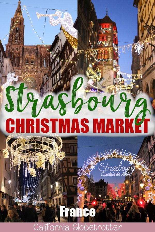 """Strasbourg is THE """"City of Christmas"""""""