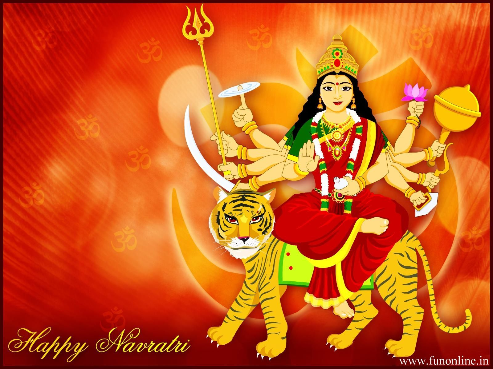 Happy Navratri Animated Iscblog Happy Navratri Navratri Images Durga Puja