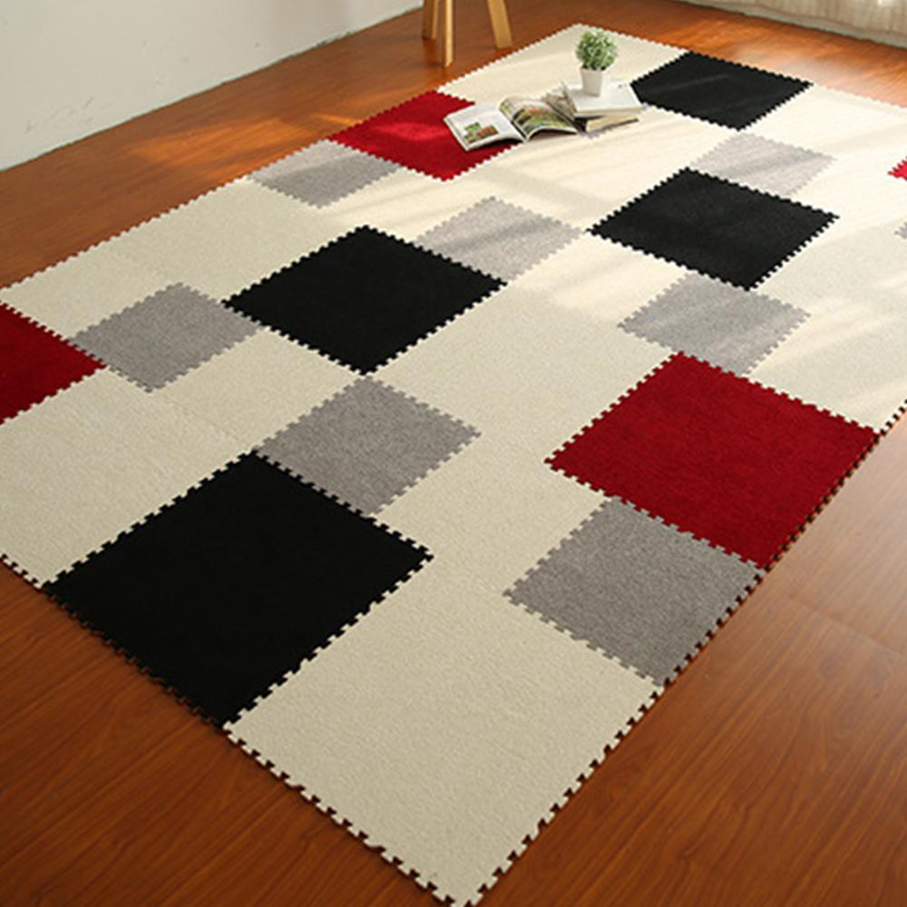 Medición Aumentar salvar  Colorful Eva Foam Puzzle Mat Carpet | Soft rugs living room, Round carpets,  Round carpet design