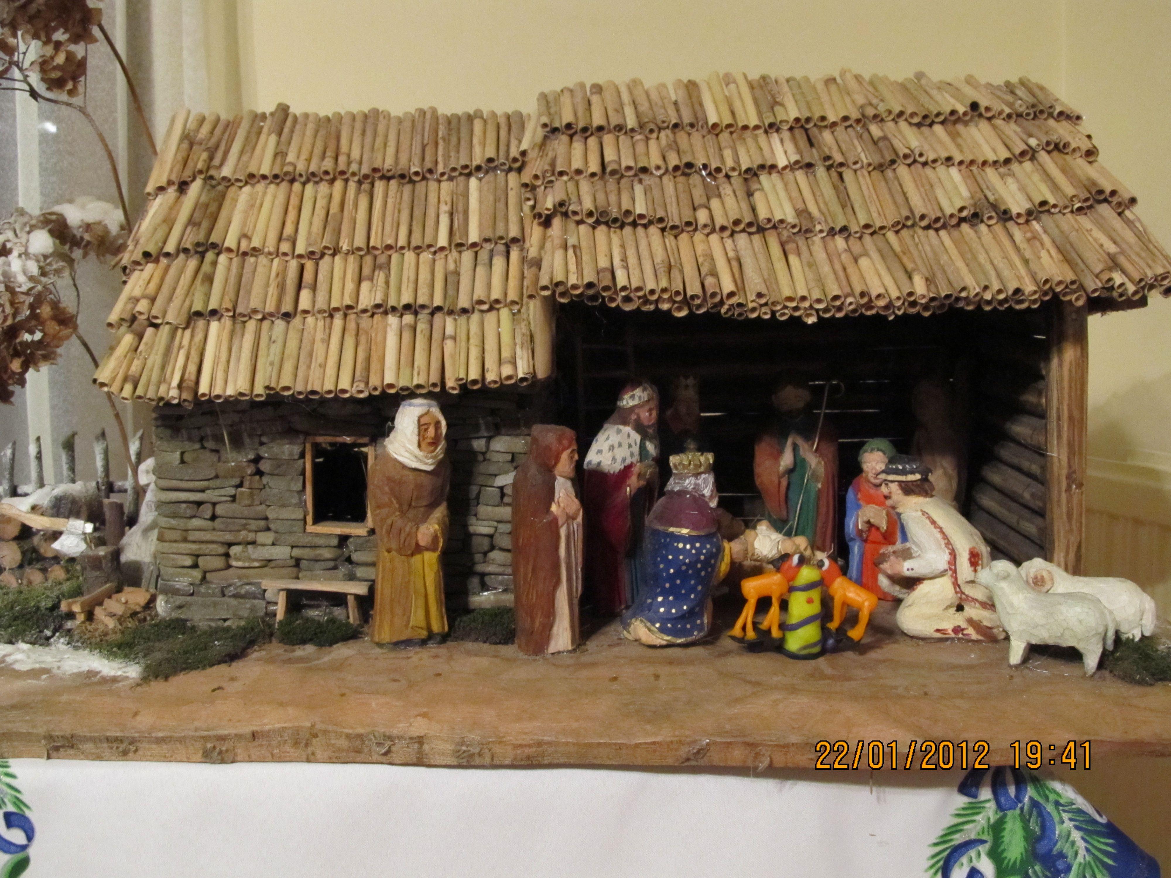Christmas Bozonarodzeniowa Szopka Mojego Pomyslu Janusz Kyrcz Crafts Wood Nativity