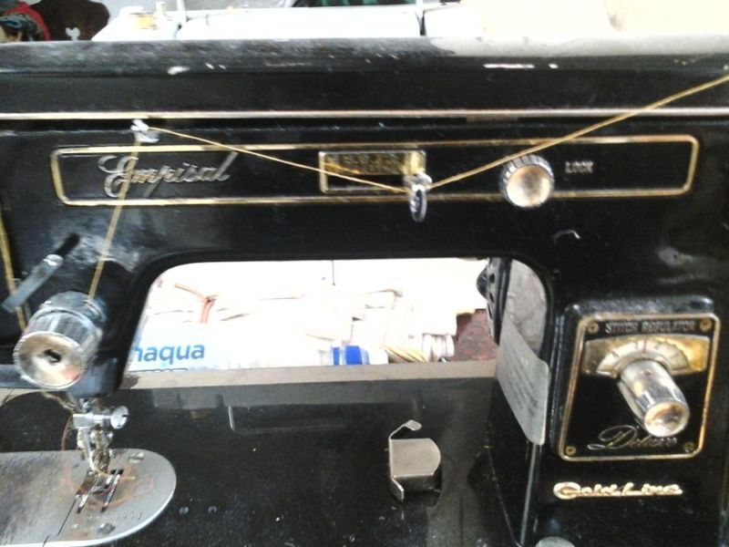 Empisal goldline industrial machinery vintage sewing