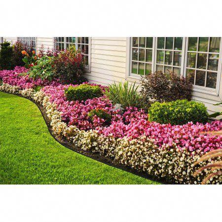 Expert Gardener 30Ft No Dig Landscape Edging Black 400 x 300