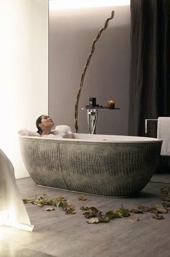 Bon Bathtub African Skin   Croco   Modern   Bathtubs   Miami   PSCBATH