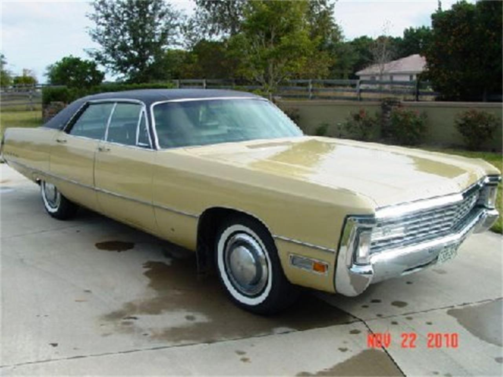 Honey Dew 1971 Chrysler Imperial For Sale Located In Long Beach