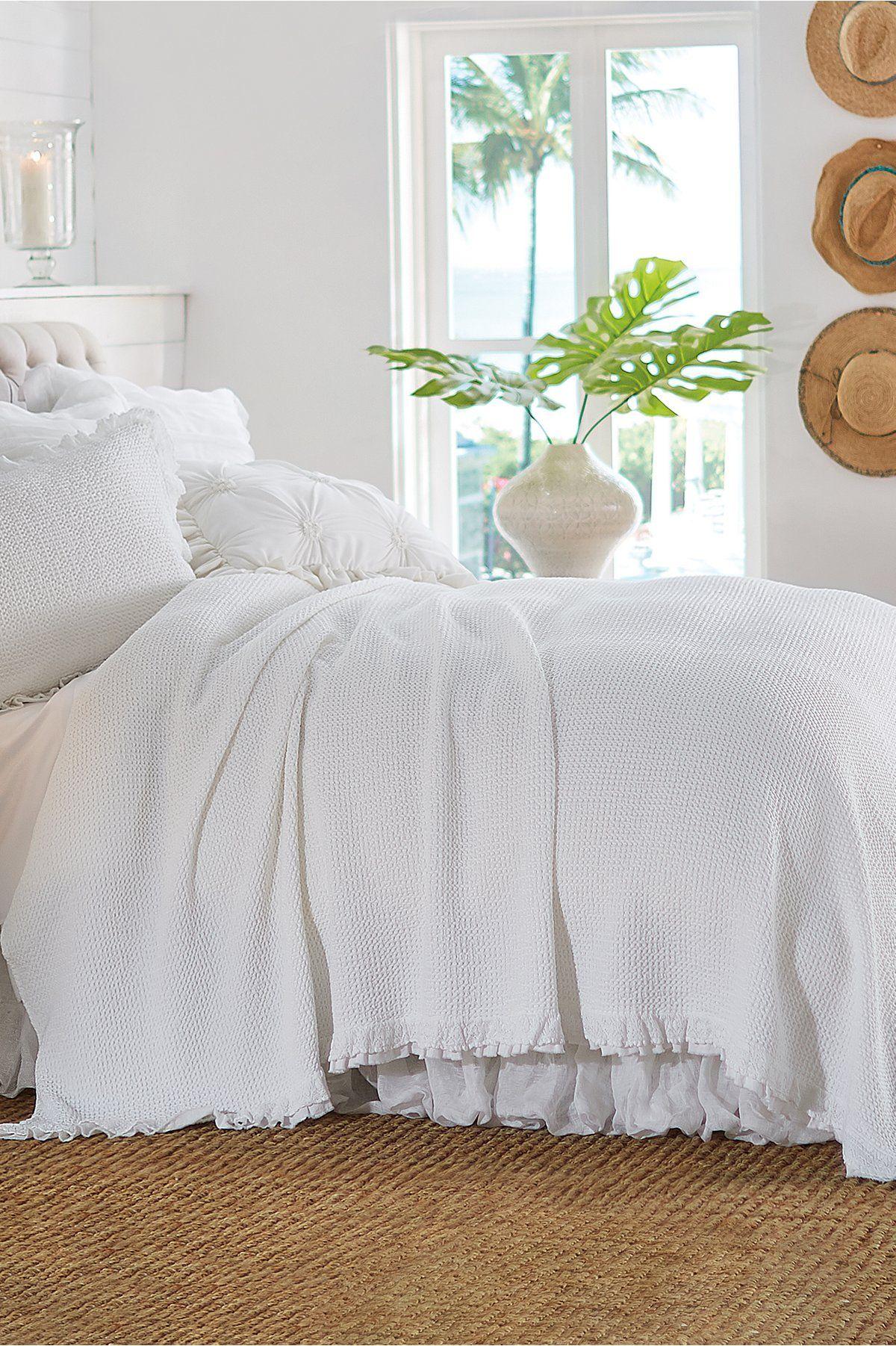Bianca coverlet farmhouse bedding sets soft