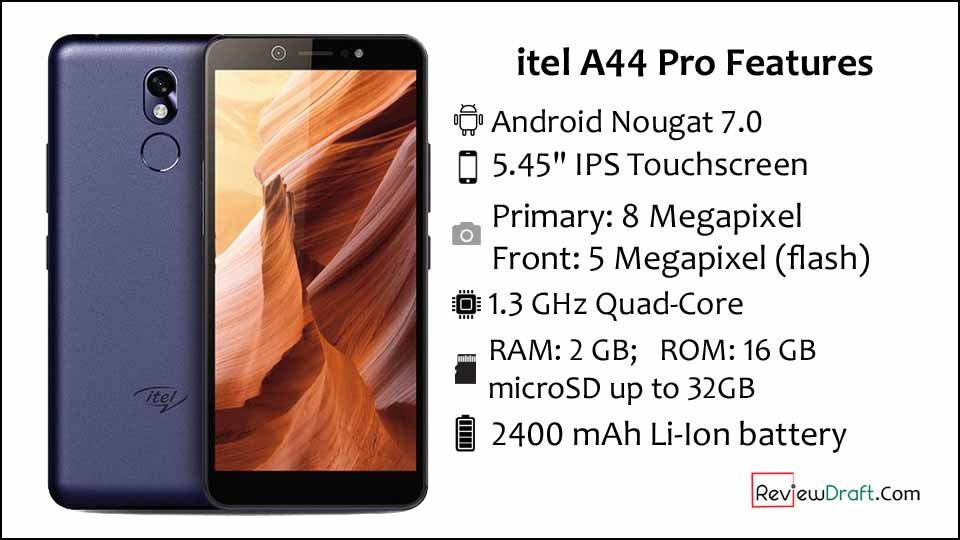 itel A44 Pro Price in Bangladesh, Full Specification | Mobile Phone