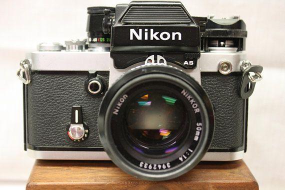 Nikon F2 Photomic 50mm 1 4 Lens NIKKOR, NIKKOR 28mm Lens, Vintage