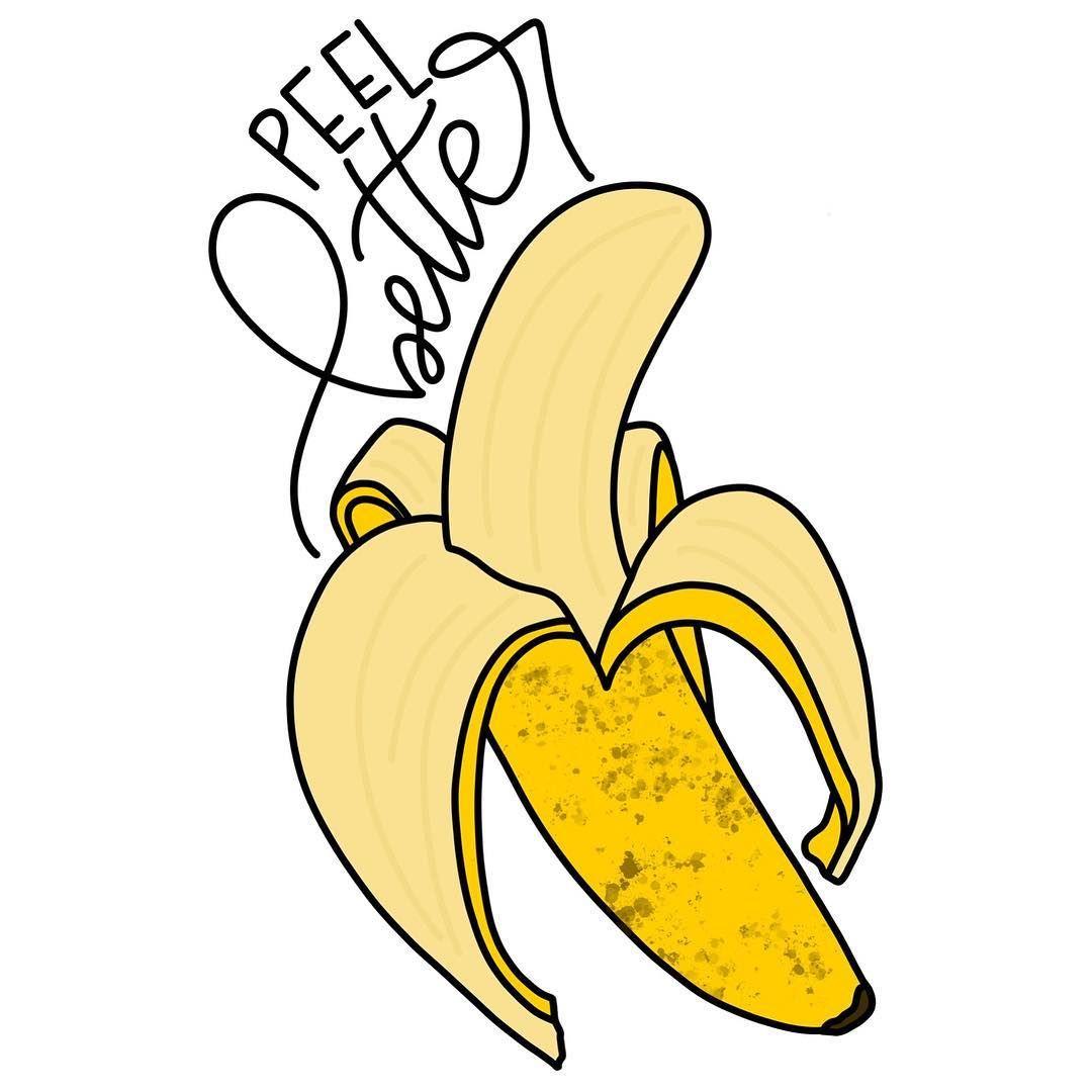peel better feel better banana pun funny joke  feel