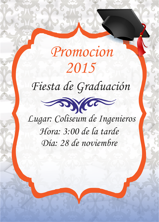 Pin De Ivone España En Invitacion Graduacion Tarjetas De