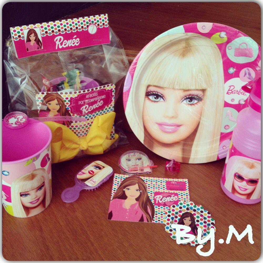 Barbie - Moños - Vaso - Thermo - Accesorios