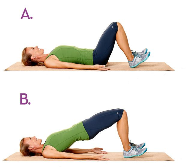 8 Moves For A Stronger, Flatter Belly…