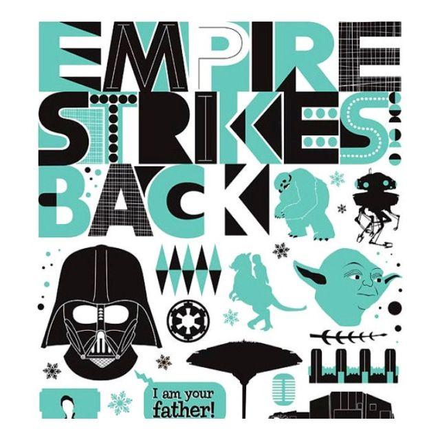 Empire Strikes Back Poster Star Wars Art Print Star Wars Christmas Gifts Star Wars Trilogy Poster
