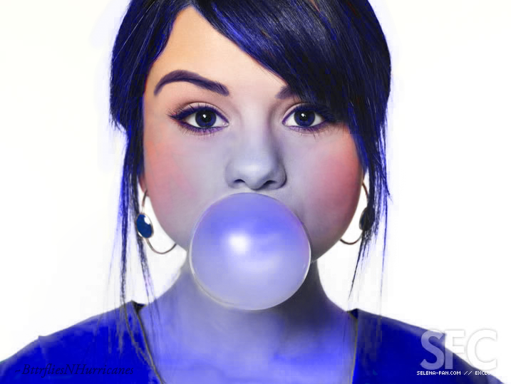 Selena Gomez Stars As Violet Beauregarde By Bttrfliesnhurricanes Deviantart Com Selena Gomez Blueberry Girl Selena