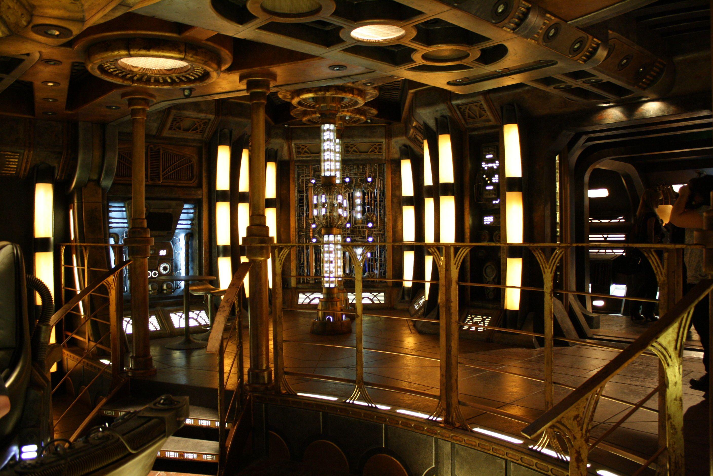 Sci Fi Walls Visual Keys Reused Ideas Stargate Universe