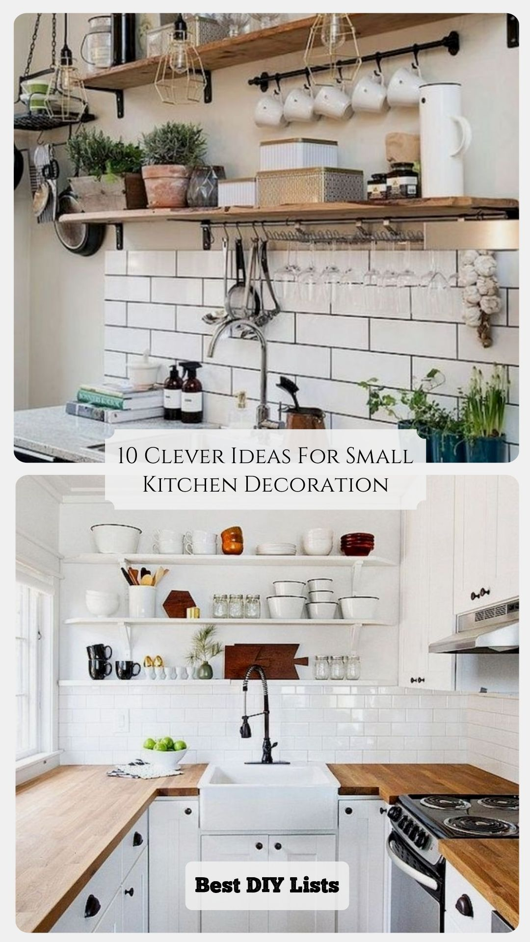 10 Clever Ideas For Small Kitchen Decoration Home Decor Kitchen Kitchen Decor Small Kitchen Decor