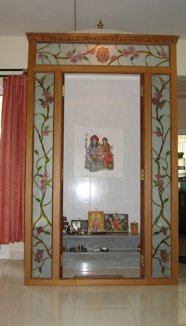 Exceptionnel Charming Pooja Room Ideas In Small House Part 8