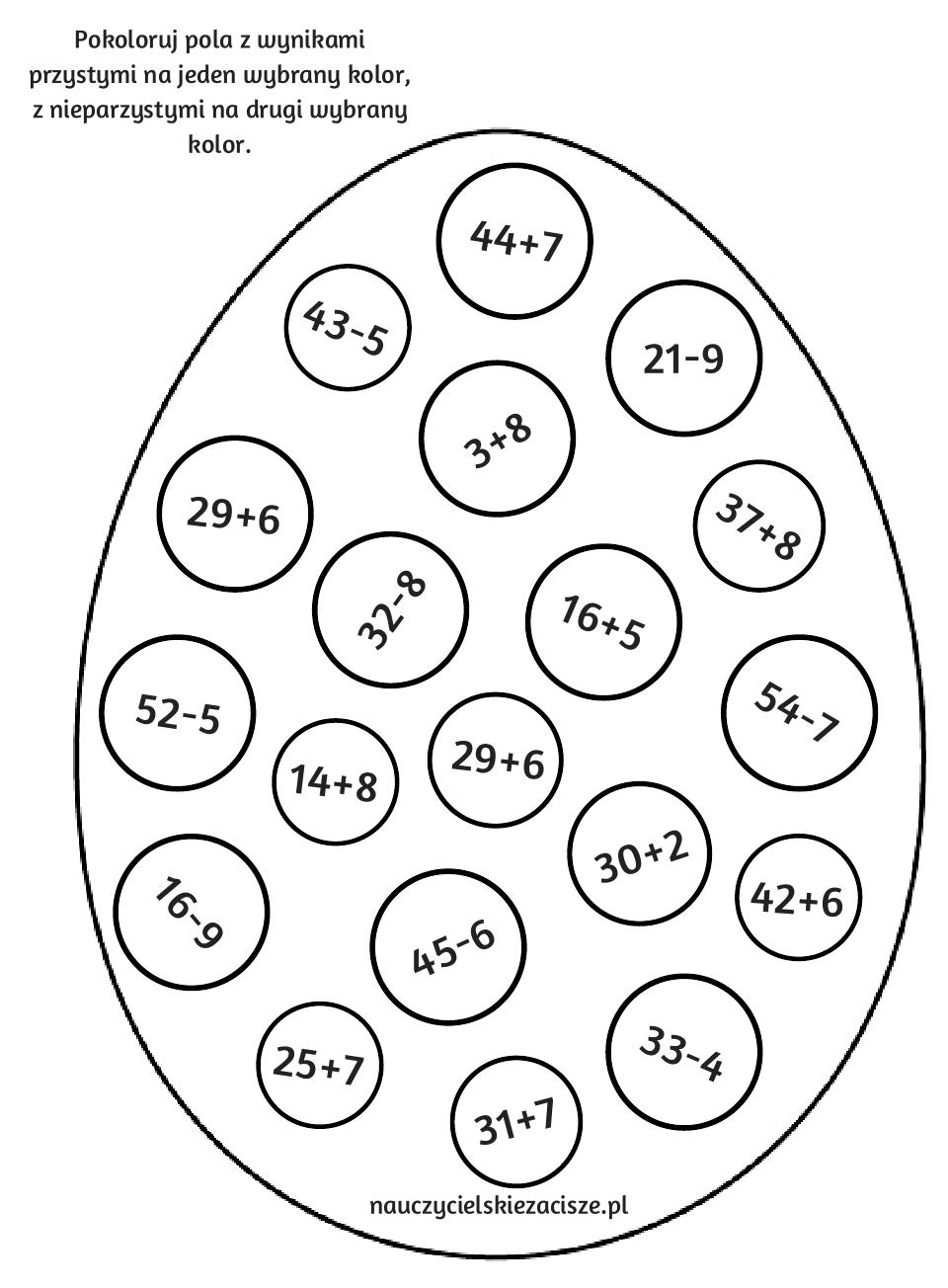 Nauczycielu Rodzicu Szukasz Pomocy Edukacyjnych Kart Pracy Pomyslow Na Gry Zabawy Materialow Do Druku D Math For Kids Maths Primary School Preschool Math
