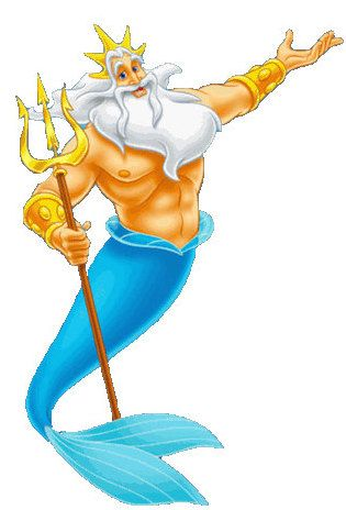 King Triton | Little mermaid characters, The little mermaid ...