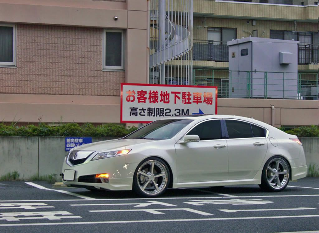 2009 acura tl lowered | From Japan. - Flawless! | Lets ...