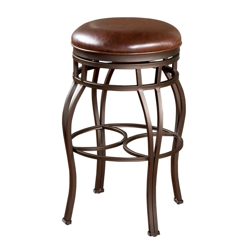 Bella 26 Inch Backless Counter Stool In Bourbon Is A Part Of Bella