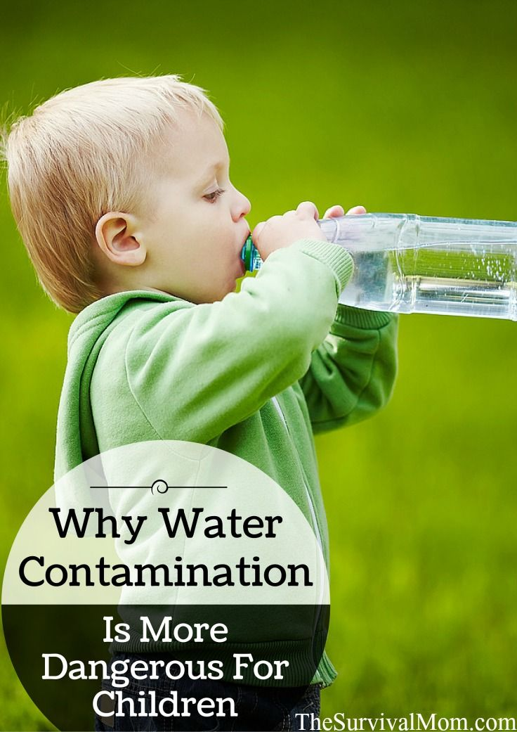 Water contamination isn't something we think about in daily life, but in an emergency, it is often a life or death issue. Children are very susceptible.