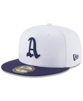 new product d0aeb a5503 New Era Philadelphia Athletics Ultimate Patch Collection World Series 2.0 59Fifty  Fitted Cap - White Navy 7 1 8
