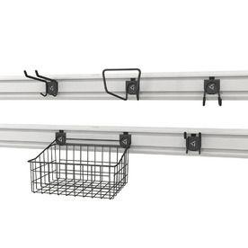 Gladiator 5 Pack Metal Wall Storage Accessories Gawa18skrh