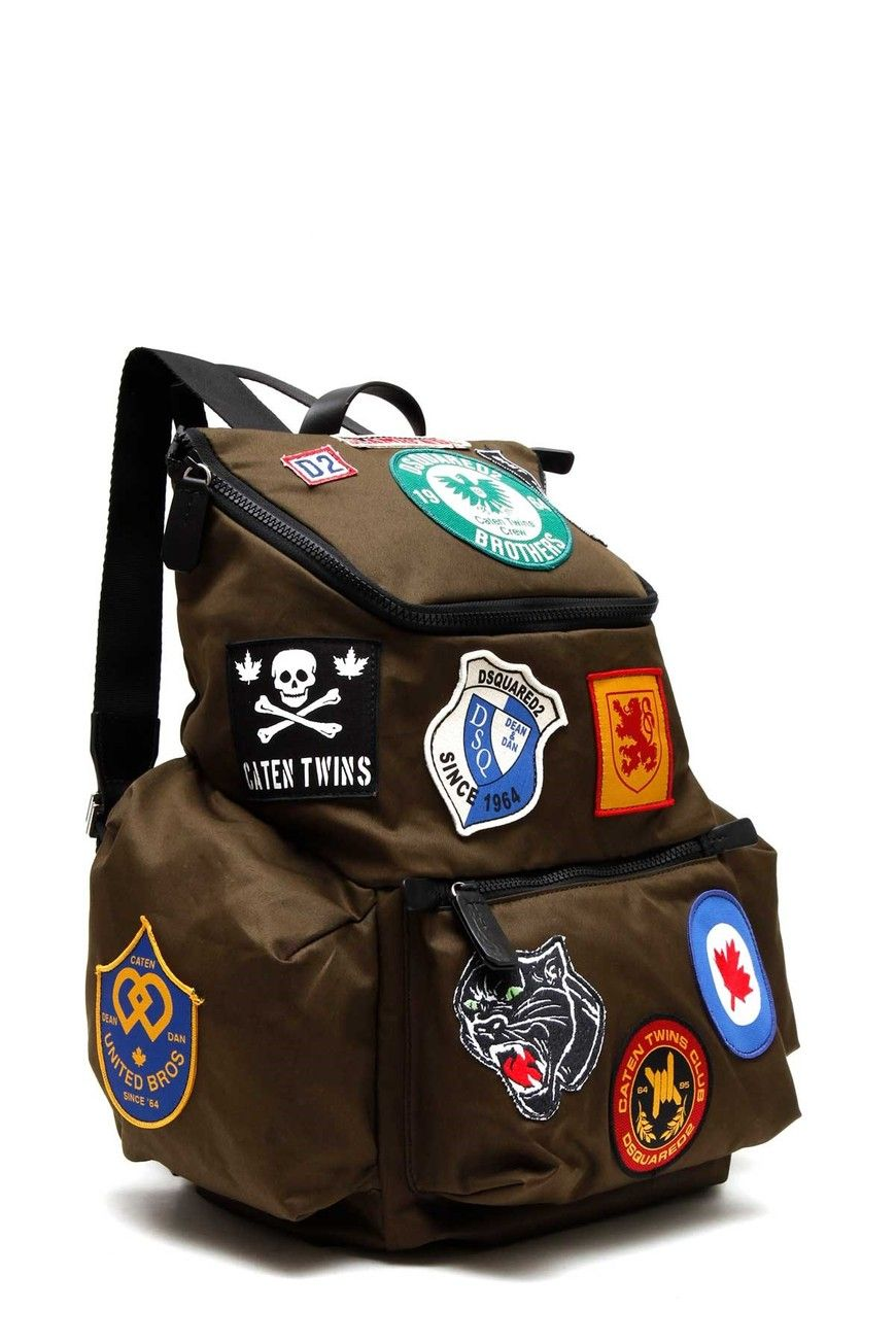 2662a43818 JJ 17SS Military patch Akira Backpack Dsquared2
