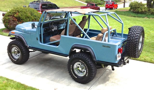 Seat Belts For Rear Seat Anyone Done This Jeep Scrambler Jeep Cj Jeep Wagoneer