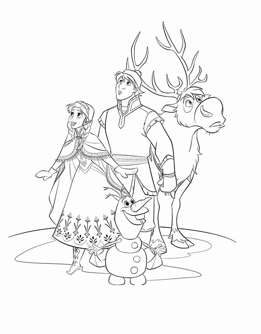 - All Disney Characters Coloring Pages In 2020 Frozen Coloring