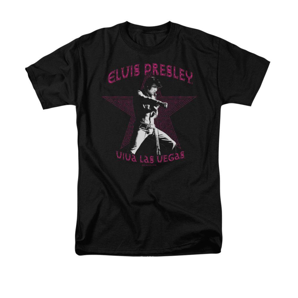 Elvis Viva Las Vegas Star Adult Work Shirt
