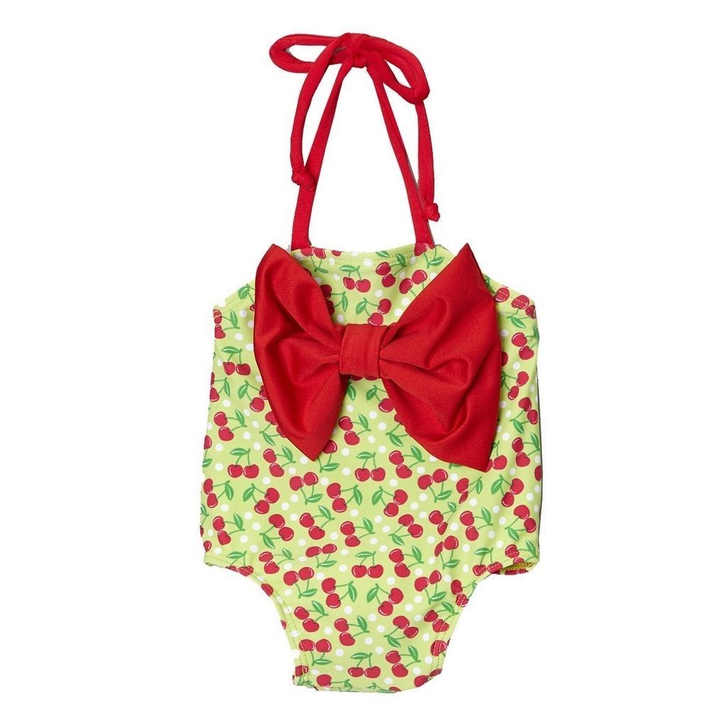 Dippin Daisy's Child's Cherry One-Piece Swimsuit