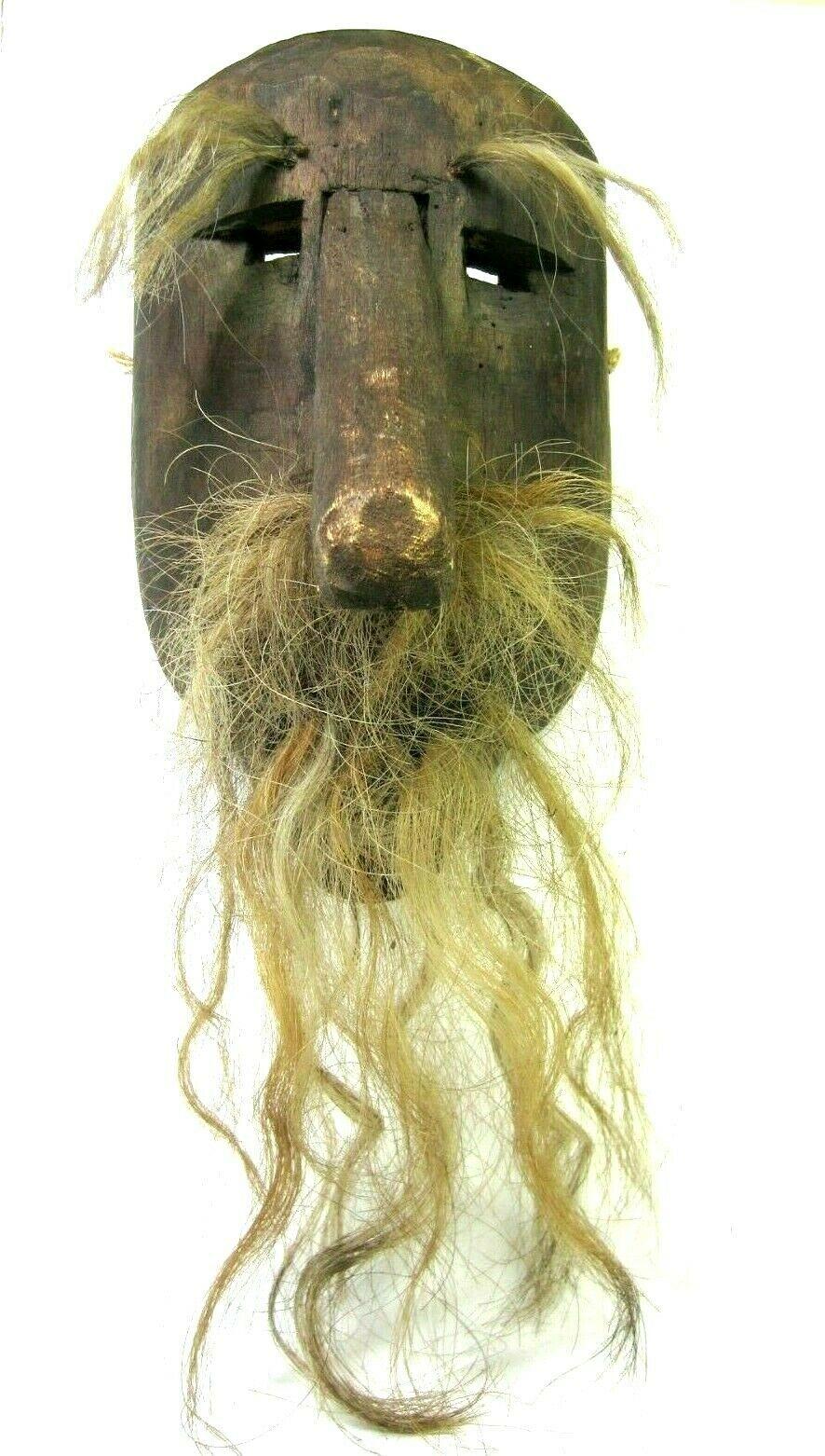 Folk Art Elderly Gentleman with nice head of hair