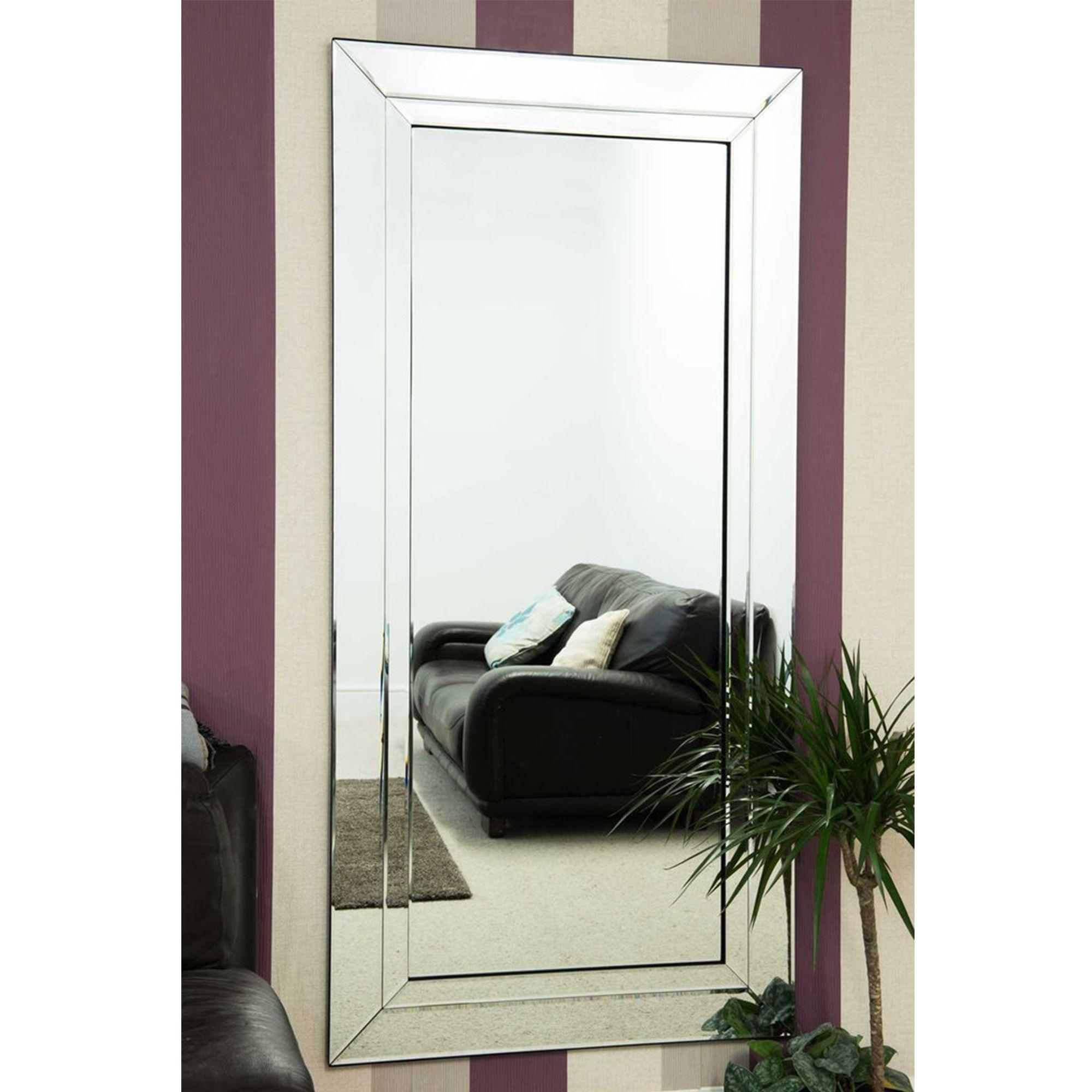 Large Bevelled Edged Frameless Venetian Mirror Venetian Mirrors Mirror Modern Framed Mirrors