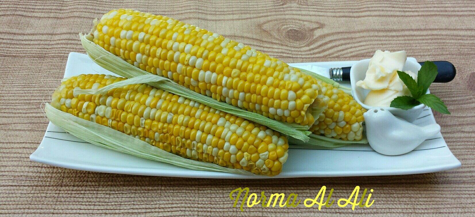 درة مسلوقة Sweet Corn Cooking Food Vegetables