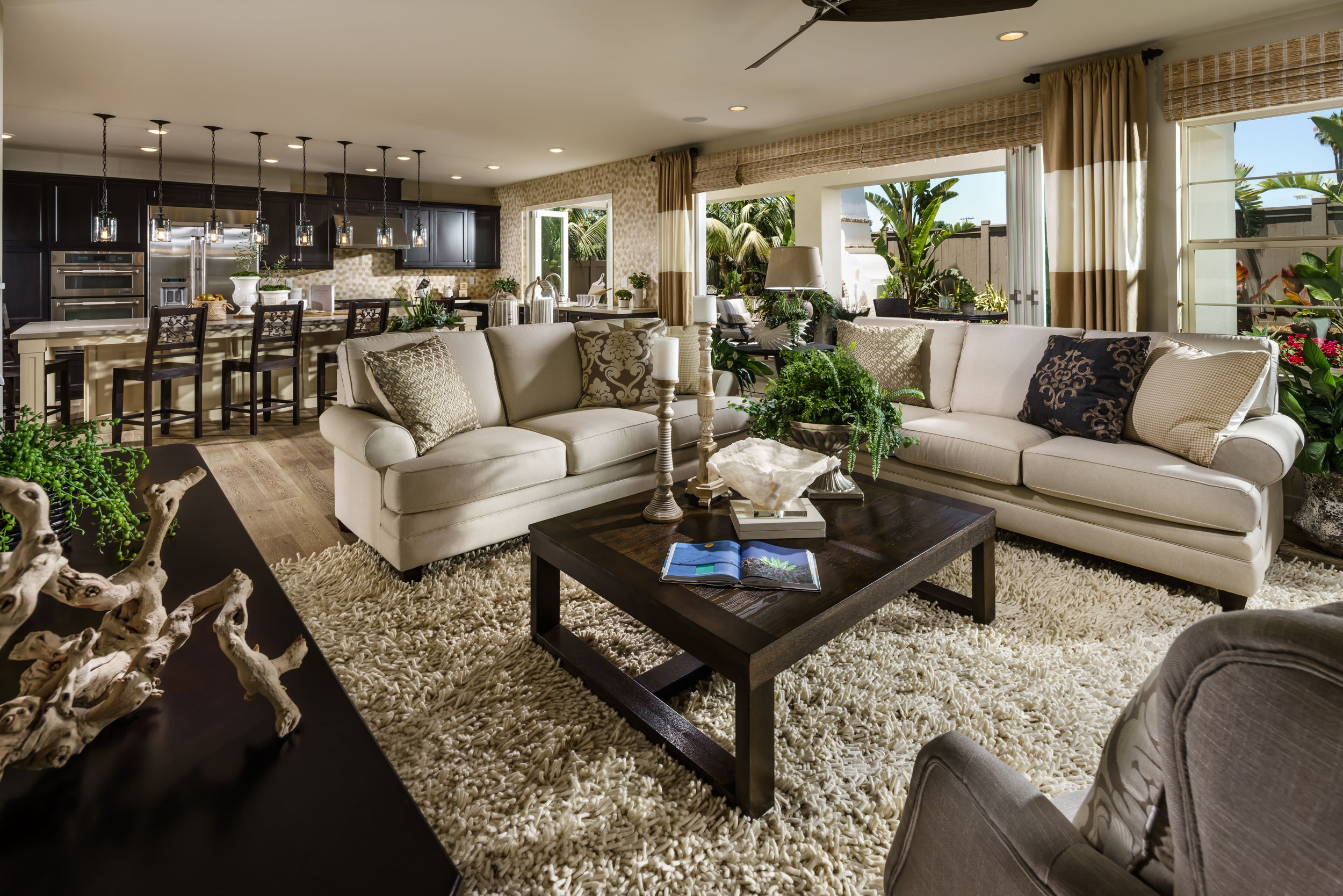 Shea Home Design Studio. Beach House  Plan 4 Living Room Open Floor plans Design Encinitas
