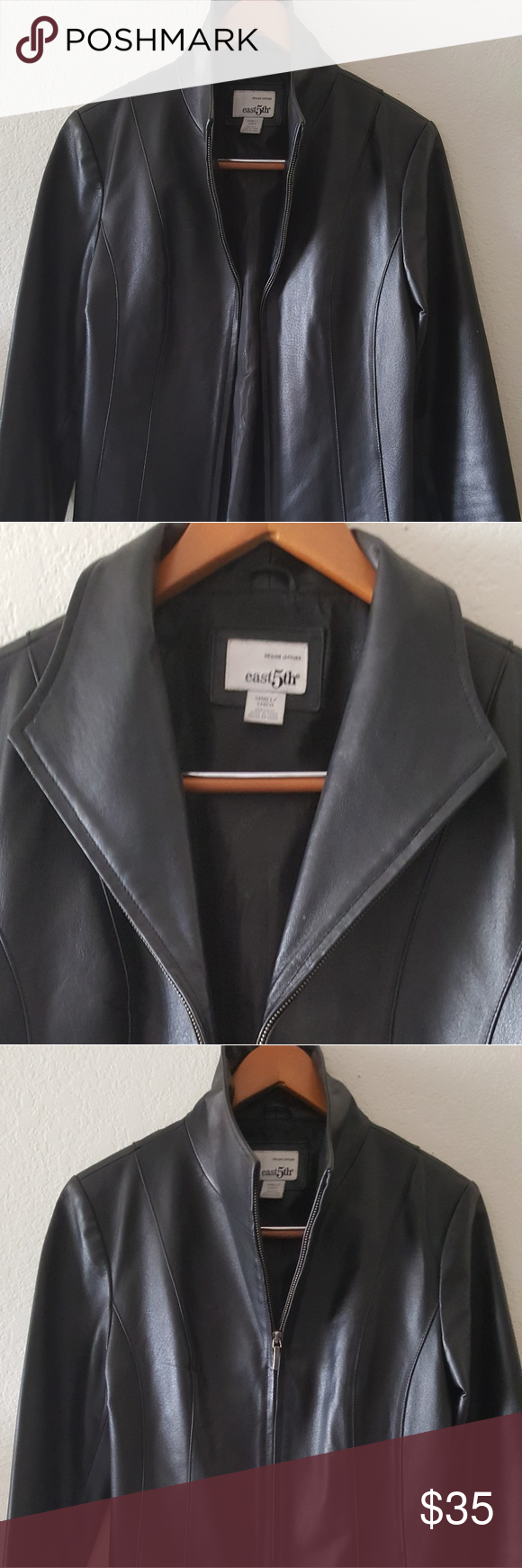I just added this listing on Poshmark East 5th leather