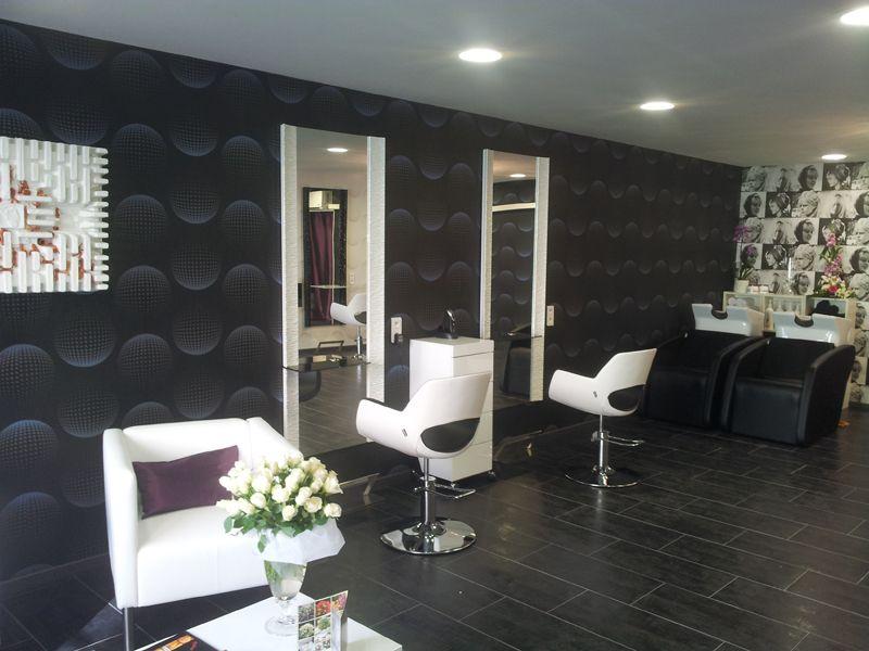 salon de coiffure ambiance moderne le