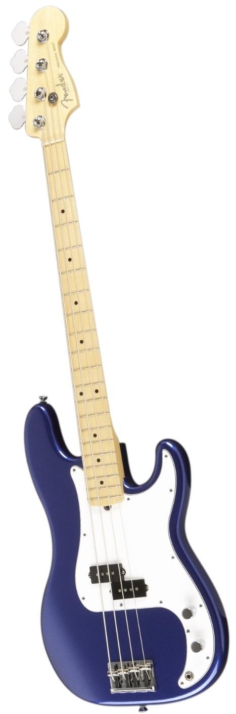 Fender American Standard Precision Bass Mystic Blue W Maple Fingerboard Fender Precision Bass Fender Squier Vintage Guitars