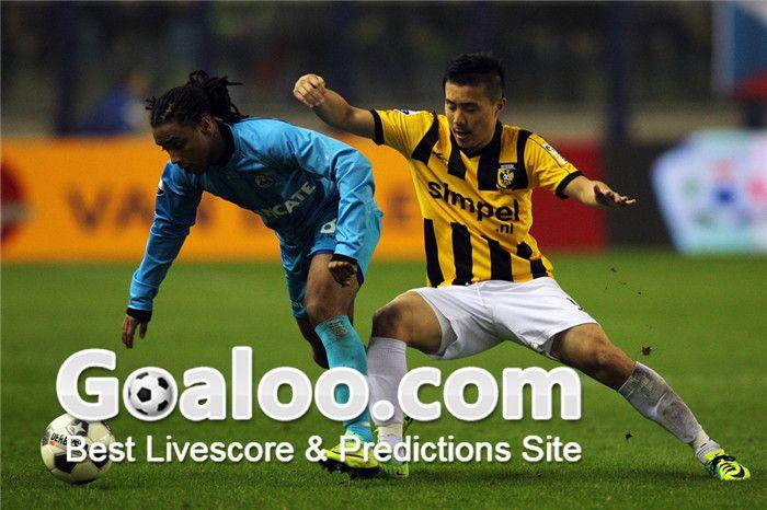 Soccer Tips: In the last 34 matches, Vitesse Arnhem got 14