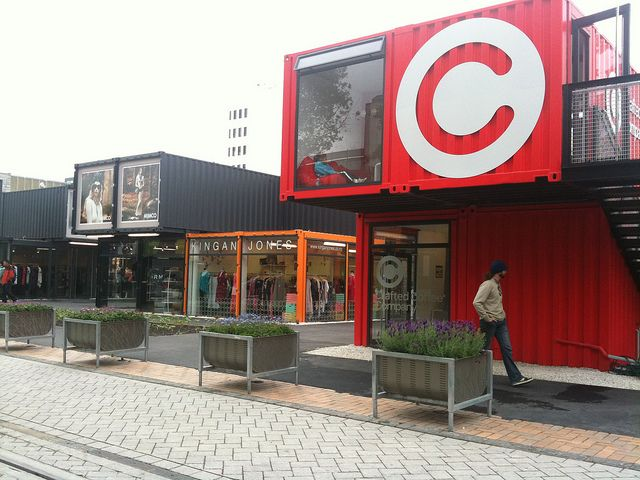 Christchurch post-earthquake 'Pop-Up' Container Mall