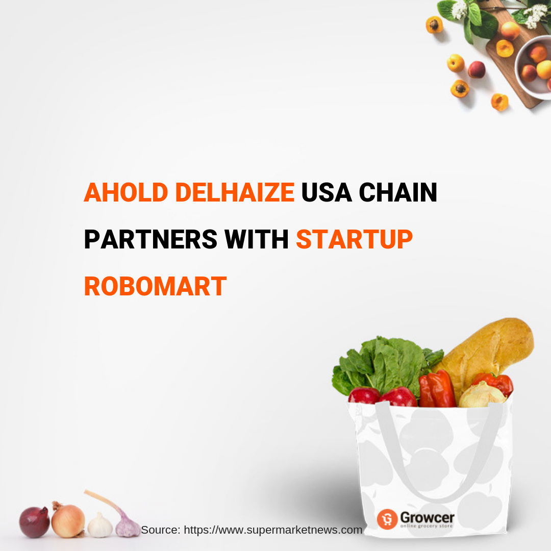 Ahold Delhaize #USA is working with Takeoff Technologies to