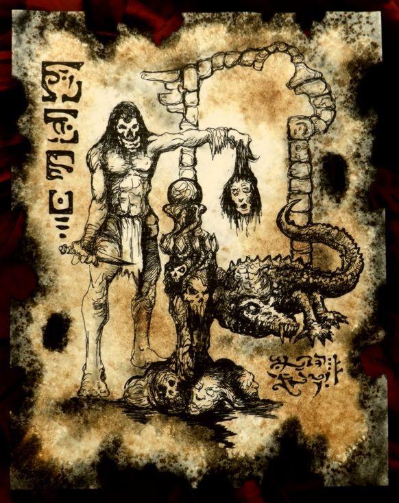 Return of the Burning Skull by MrZarono.deviantart.com on ...